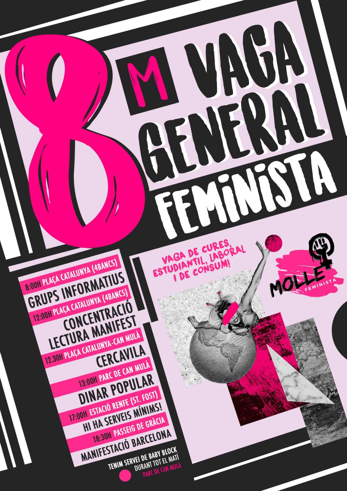 Vaga Feminista a Mollet