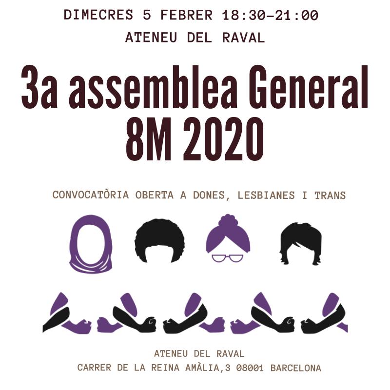 3a Assemblea General 8M Vaga Feminista