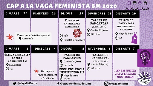 Cap a la vaga feminista