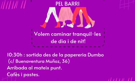 Passejada feminista c/ Buenaventura Muñoz