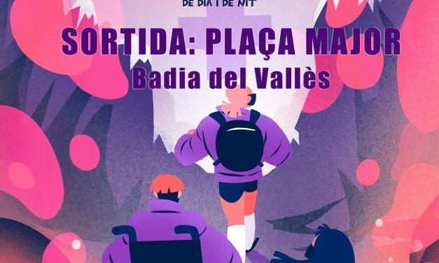 Passejada feminista a Badia del vallès