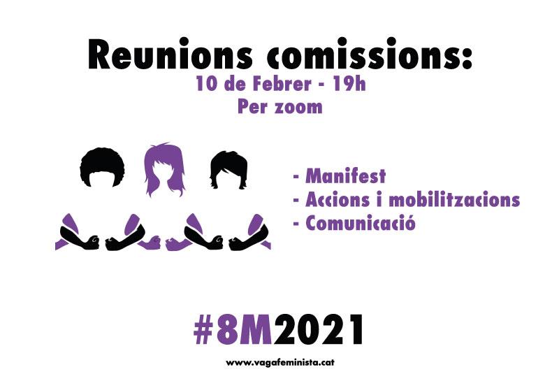 Reunions de comissions
